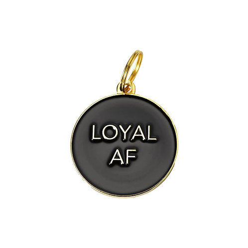 'Loyal AF' Pet ID Tag
