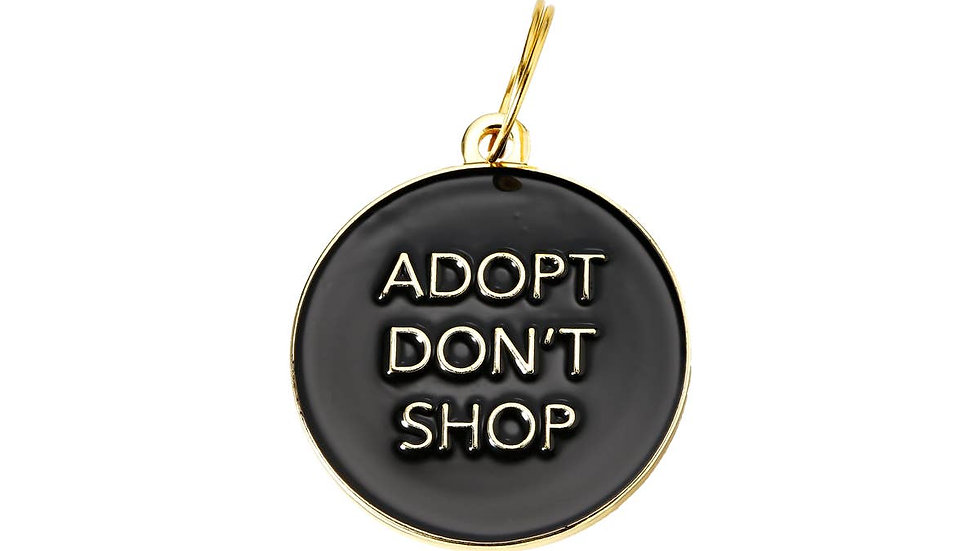 'Adopt Don't Shop' Pet ID Tag