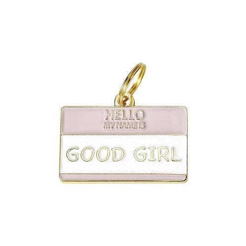'Good Girl' Pet ID Tag