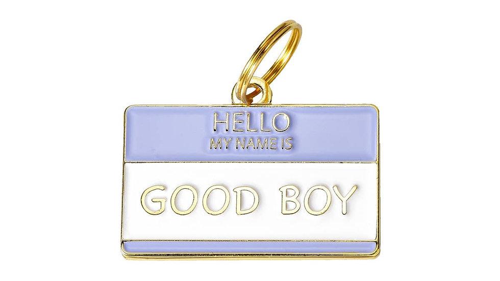 'Good Boy' Pet ID Tag