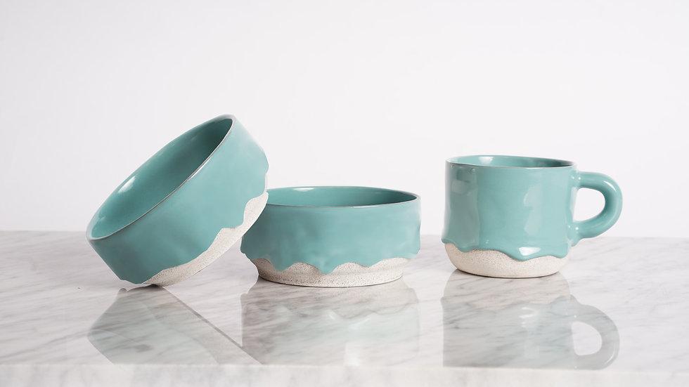 Turquoise Drippy Ceramics