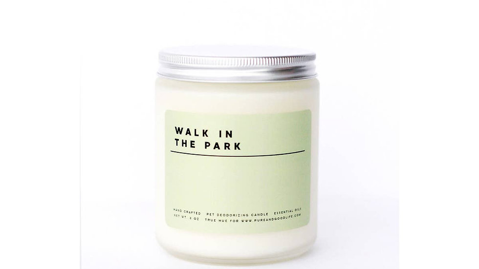 'Walk in the Park' Candle