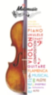 cours de guitare de violon de flûte de chant de piano, éveil musical, chorale d'enfant à Montpellier