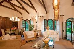 Casa Campana Dining Room And Living Room