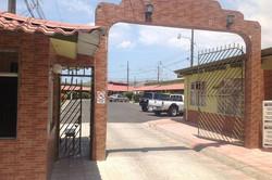 San Agustin Gated Community Entrance