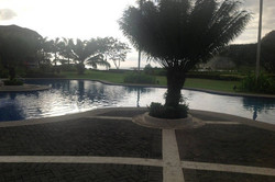 Outdoor Swimmig Pool Area
