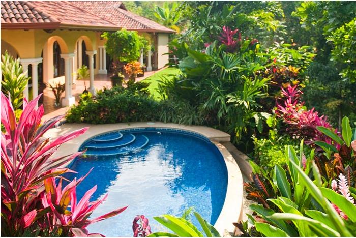 Casa Campana Backyard, Pool And Gardens