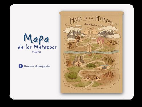 Mapa de Los Metazoos (Petas)