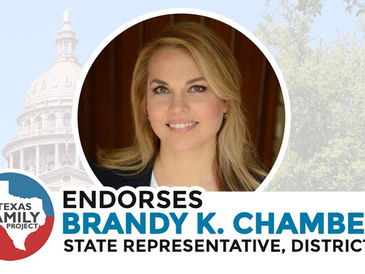Texas Family Project Endorses Brandy K. Chambers for Texas House District 112
