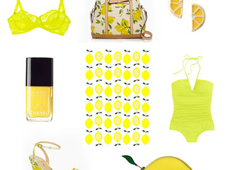 ON TREND: LEMON FRESH