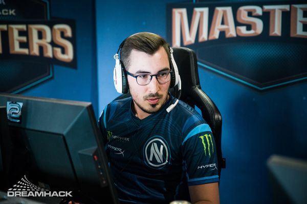 kioShiMa with EnVyUs at DreamHack Masters Marseille 2018 (Photo Credit: DreamHack)