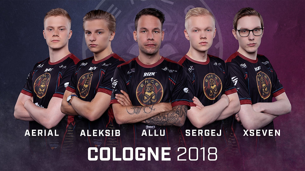 ENCE roster making its International Premier LAN debut in ESL One: Cologne 2018 (Credit: ESL)