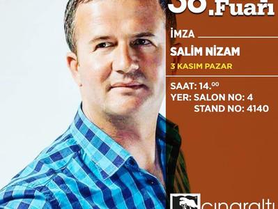 İstanbul TÜYAP 38.  Uluslararası Kitap Fuarı