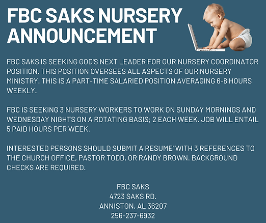 FBC Saks Nursery Announcement.png