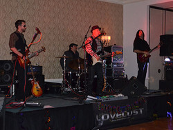 A live band performed