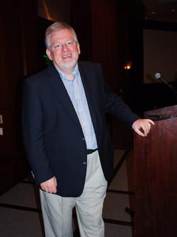 Norbert after his talk