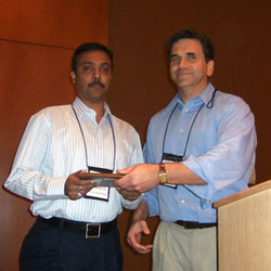 Promothesh Chatterjee received the conference Best Student Paper Award