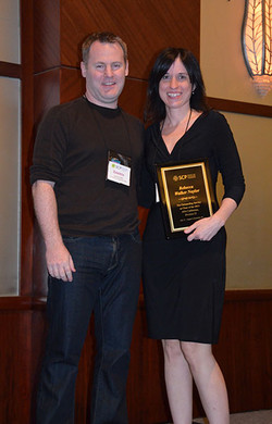 Darren thanks Rebecca Naylor for organizing the 2013 APA Conference in Hawaii