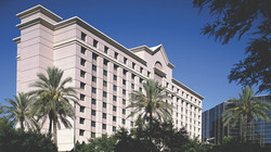 We were at the Ritz Carlton hotel
