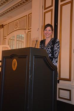 In her presidential address, Jennifer Ar