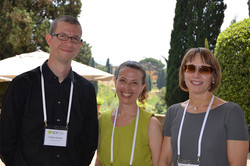 Conference organizers, Stefano Putoni, Vicki Morwitz, and Simona Botti - our thanks to them on a gre