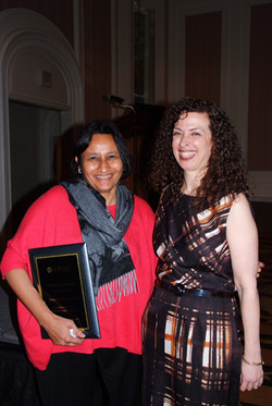 Vicki thanks Rashmi Adaval for putting together a wonderful PhD Consortium with Jesper Nielsen (not