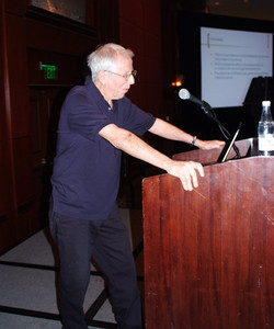 Robert Wyer was our Plenary Speaker on day 2