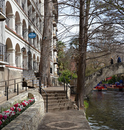 Located on San Antonio's River Walk