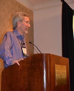 Tom Gilovich was our Keynot Speaker on day 1