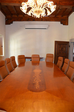 One of the smaller conference rooms