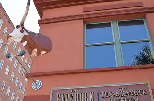 Our lunch restaurant: The Buckhorn Saloon