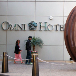The conference location was the Omni Hotel