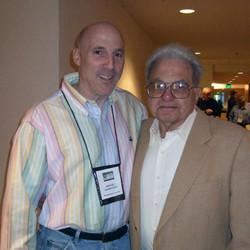 SCP Treasurer Ronnie Goodstein and SCP official curmudgeon Hall Kassarjian