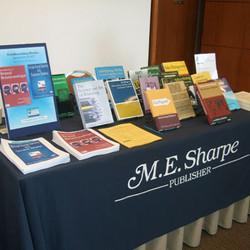 M.E. Sharpe publishes SCP's book series