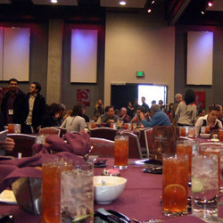 Lunch the first day was at the Omni