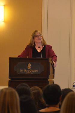 Elizabeth Loftus was our keynote speaker