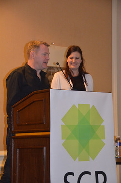 Bernadette Kamleitner and Darren Dahl are two of the co-chairs for the Vienna SCP conference this su