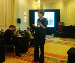 JCP Editor Connie Pechman addresses the JCP ERB