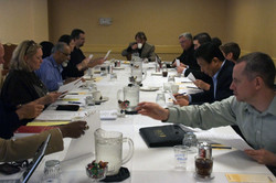 Your SCP Executive Board hard at work at their pre-conference meeting