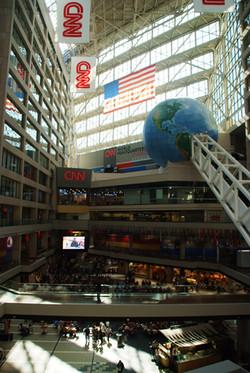 A final glance at the CNN Center