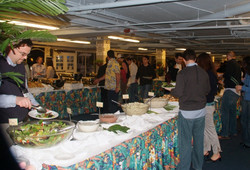 Lots of food at the party