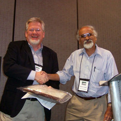 Norbert Schwarz received the Scientific Achievement Award - his talk provided advice for junior cons