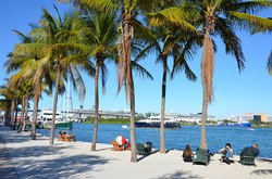 Located on the Biscayne Bay