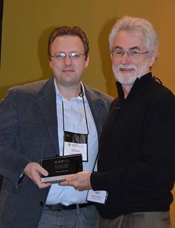 Derek Rucker is also an Early Career Contribution Award winner