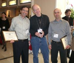 2008 Conference Award Winner Itamar Simonson and Gal Zauberman (John Lynch in between)