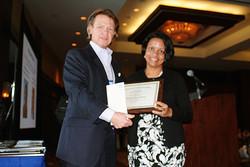 Alokparna Basu Monga receives the Park JCP Award