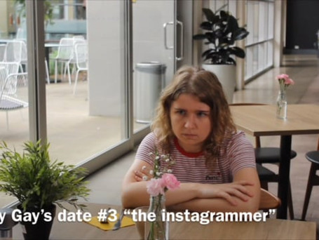 """""""Instagrammer"""" in Baby Gay's First Dates"""
