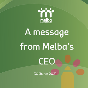 A MESSAGE FROM MELBA'S CEO: BOARD CHANGES