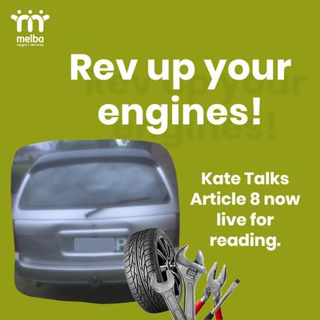 Kate Talks // 29 SEPTEMBER 2020