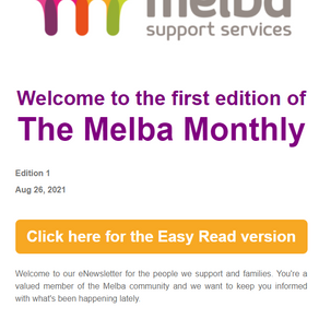 The first edition of Melba Monthly is out now!